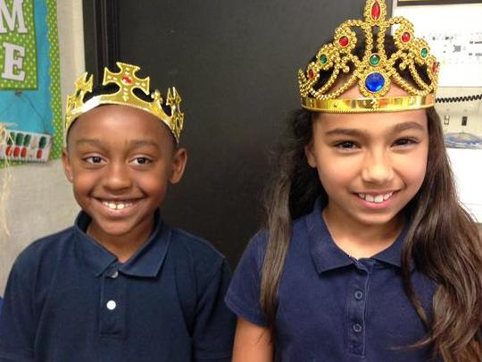 Conventions King and Queen! Perfect spelling & punctuation!